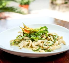 Fresh pasta with zucchini - Da Gelsomina